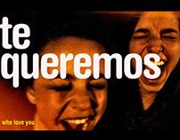 we love you/ te queremos