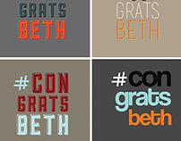 #congratsbeth - BBDO