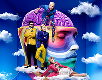 Neon Trees - Pop Psychology - Album Artwork Campaign