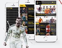 LA LIGA 2014 - 2015 Website