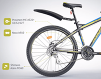 FORWARD Quadro 2.0 bicycle / 3D Video