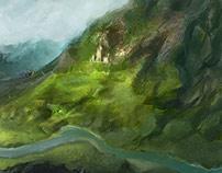 Mountain monastery (Cinematic music)