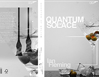 James Bond Concept Book Cover. Quantum Of Solace