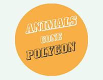 Animals gone polygon
