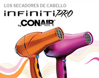 InfinitiPro by CON AIR Web Banners