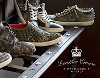 Leather Crown - Web Design