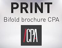 PRINT / Plaquette CPA