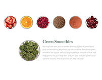 Recipe Cards – Green Smoothies