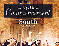 2014 South University Graduation Collateral