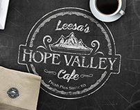 Hope Valley Cafe Brand