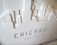 Chicago Cloud City: White on White