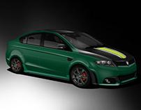 Proton Preve R3 Lotus Racing Concept