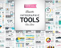Huge Collection of Infographic Vector Tools