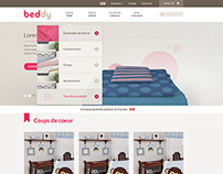 BEDDY e-comm WEBSITE