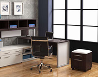 3D Images of Office Furniture