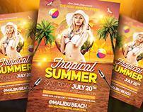 Tropical Summer | Flyer Template
