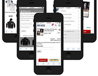 Bootstrap Mobile Store