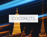 Coconuts | Multilingual Publishing Platform Design