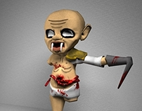 Athan, El No Nacido [3D Model & Rigging]