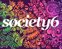 Society6 • Rainbow Skull