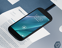 YOTA DEVICES branding 3d visualization