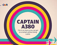 Social media promotion of A380 game