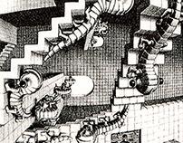 DeCode 3. MC Escher's compound grids