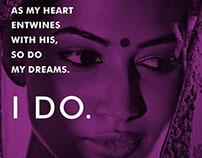 Diva'ni bridal series campaign
