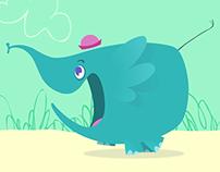 Elephant animation test