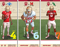 2014 IU Football Tickets