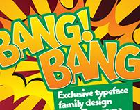 Bangbang typeface