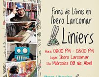 Book signing event | Liniers