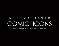 MINIMALISTIC ICONS   °COMIC HEROES°