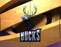 MILWUAKEE BUCKS- PROJECTION MAPPING CONCEPT