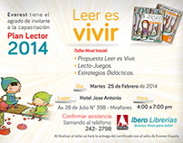 Plan Lector - Event | Everest