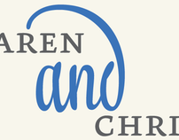 Karen & Christian Wedding Invite
