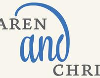 Karen & Christian Wedding Invite