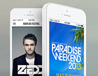 Paradise Weekend / IOS - ANDROID -  APP