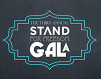 3rd Annual Stand For Freedom Gala Advertisements