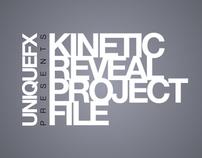 Kinetic Reveal