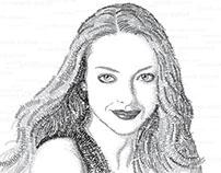 Amanda Seyfried - Vector - Illustrator