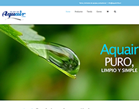 Aquair Chile Website