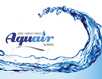 Aquair Chile Business Cards