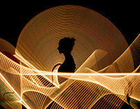 Light Painting Portraits