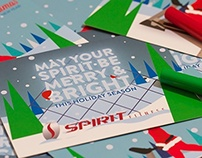 Spirit Fitness Christmas Card