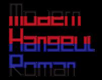 Modern Hangeul Roman