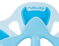 Logo for Nabaiji /// Decathlon /// Swimming Brand