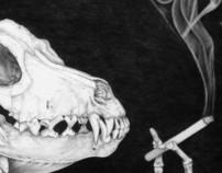 Pin-Up Canina  (Skeleton Bitch)