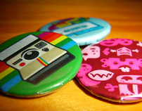 Pin-back Buttons