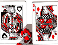The King of Hearts, Queen of Diamonds & a Hungry Joker